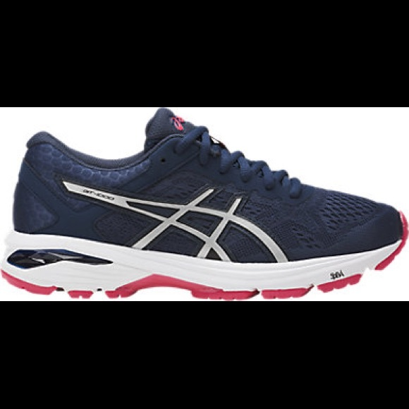 bdebaedeeb3e Asics Shoes - Like New ASICS GT-1000 6 Blue Silver Red -
